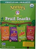 Annie's Homegrown Organic Vegan Fruit Snacks Variety Pack, 42 Count, 2LBS 2O