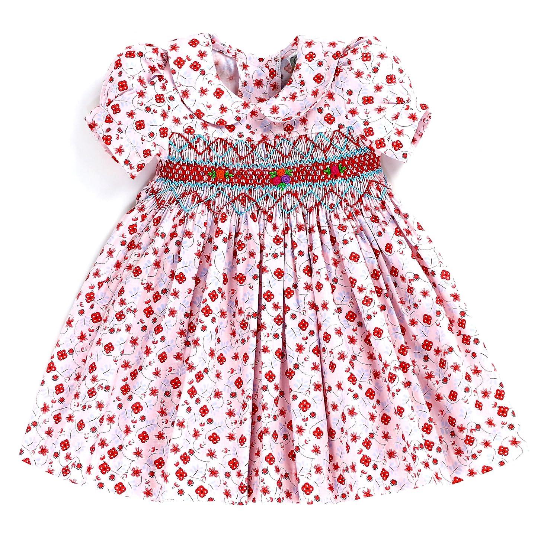 sissymini DRESS DRESS ベビーガールズ 12M 12M Pink Mini B078ML3TN3 Floral B078ML3TN3, Brand Liberty:aae684e5 --- capela.eng.br