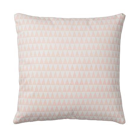 Amazon.com: Nude almohada de algodón con triángulos: Home ...