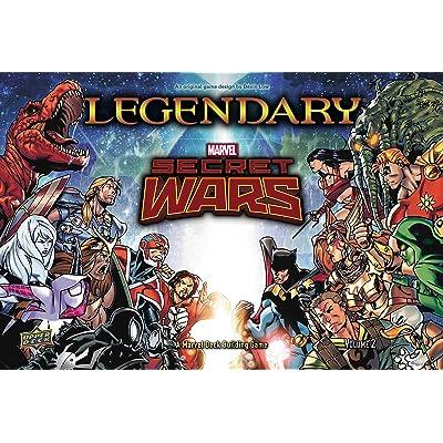 Legendary A Marvel Secret Wars Volume 2 Deck BuildingCard Game: Toys & Games