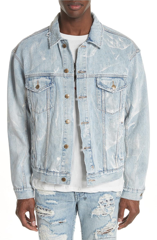 [スビ] メンズ ジャケットブルゾン Ksubi Oh G Electric Marble Denim Jacket [並行輸入品] B07DR9HXL2 Small