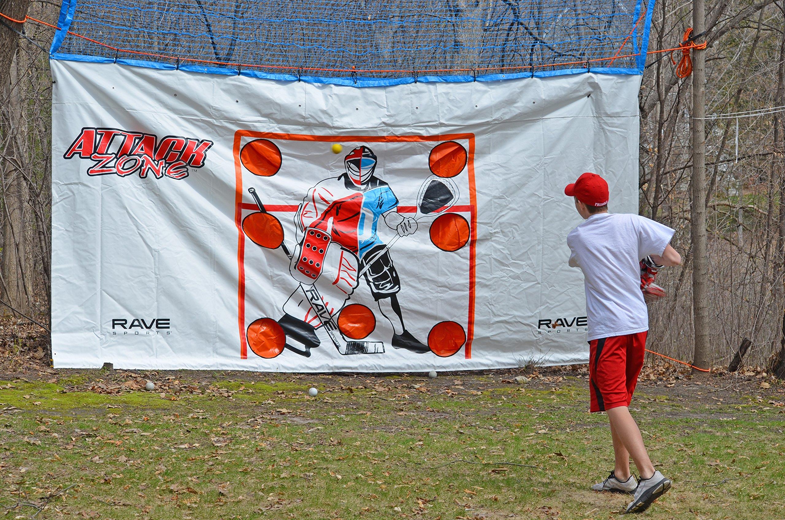 RAVE Sports Attack Zone 16' x 8' Hockey/Lacrosse Tarp by RAVE Sports