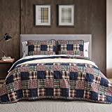 Eddie Bauer Home | Madrona Collection | Bedding Set-100% Cotton Light-Weight Quilt Bedspread, Pre-Washed for Extra Comfort, F