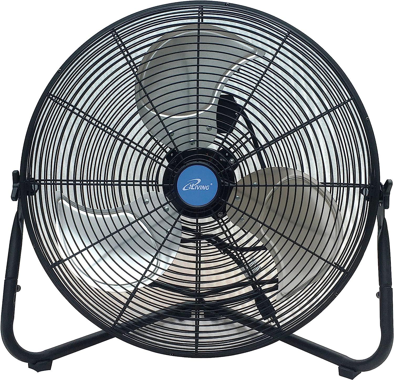 iLiving High Velocity Floor Fan Wall Fan