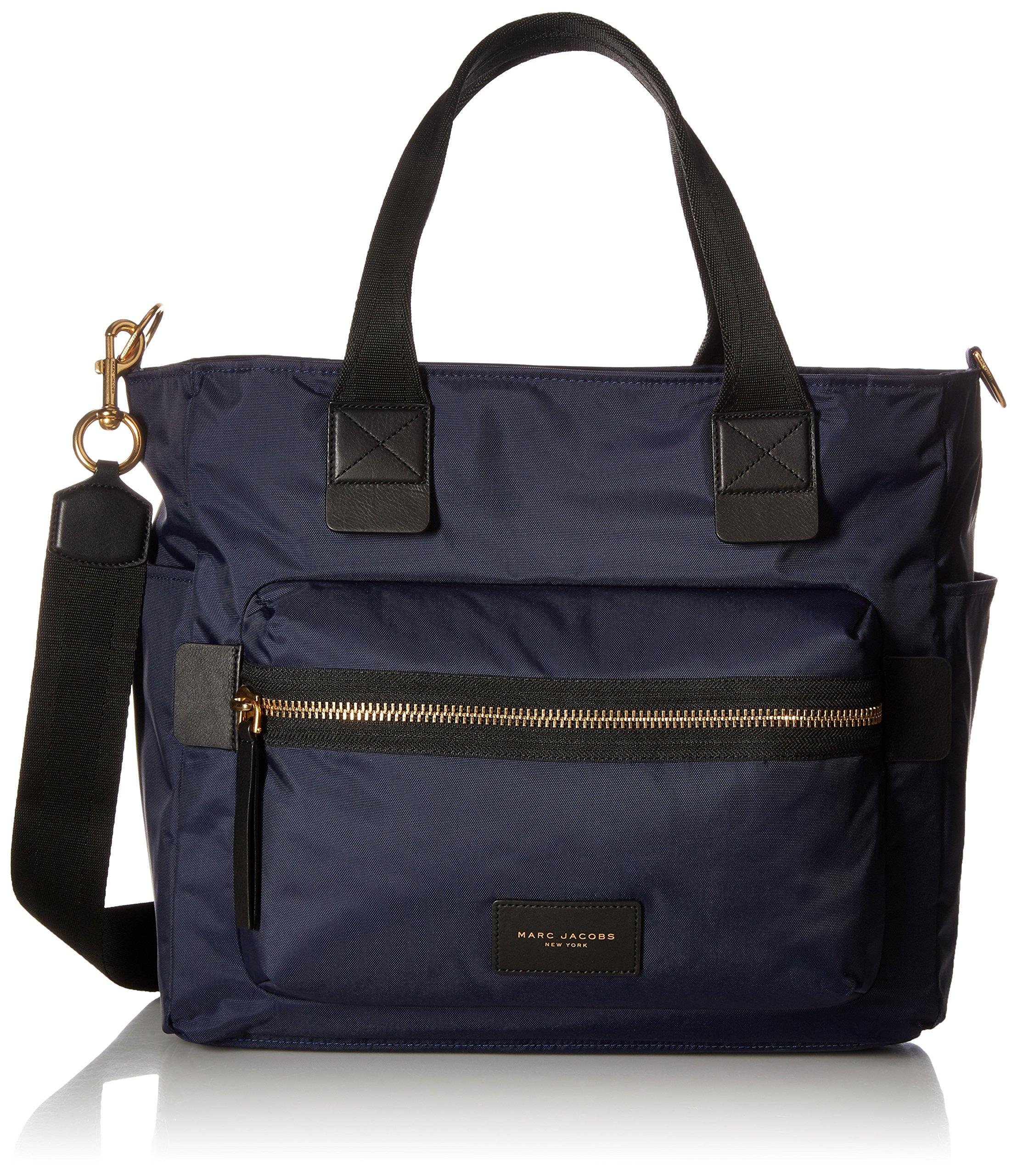 Marc Jacobs Nylon Biker Baby Weekender Bag, Midnight Blue, One Size