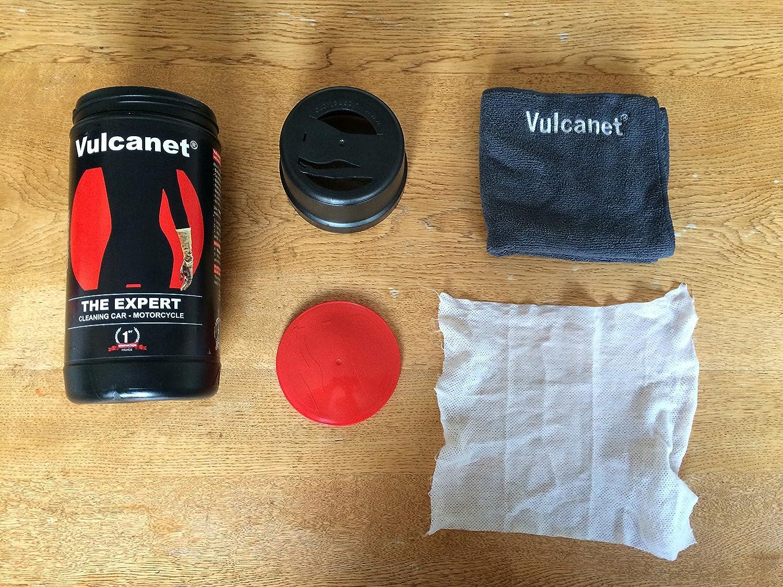 vulcanet Premium motocicleta de limpieza/limpieza de coche, 30 + USA Inc desengrasante, Bug y Tar Remover, limpiador de cuero, casco visera limpiador y ...