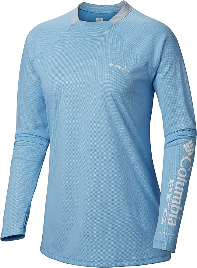 Columbia Tidal Deflector ZeroTM Camisa de Manga Larga para Mujer con diseño: Amazon.es: Ropa y accesorios