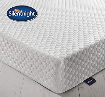 Silentnight 7 Zone Memory Foam Rolled Mattress Made In The Uk