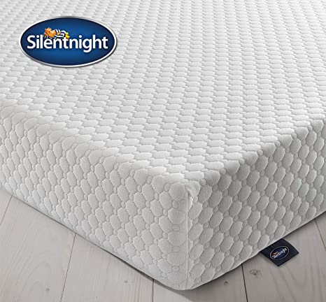 finest selection 2cc7b a345e Silentnight 7 Zone Memory Foam Rolled Mattress, Made in the UK, Medium  Firm, Double