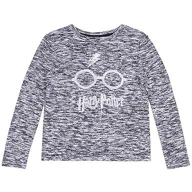 406f21031 Camiseta Gris Harry Potter - 7-8 Años 128 cm  Amazon.es  Ropa y accesorios