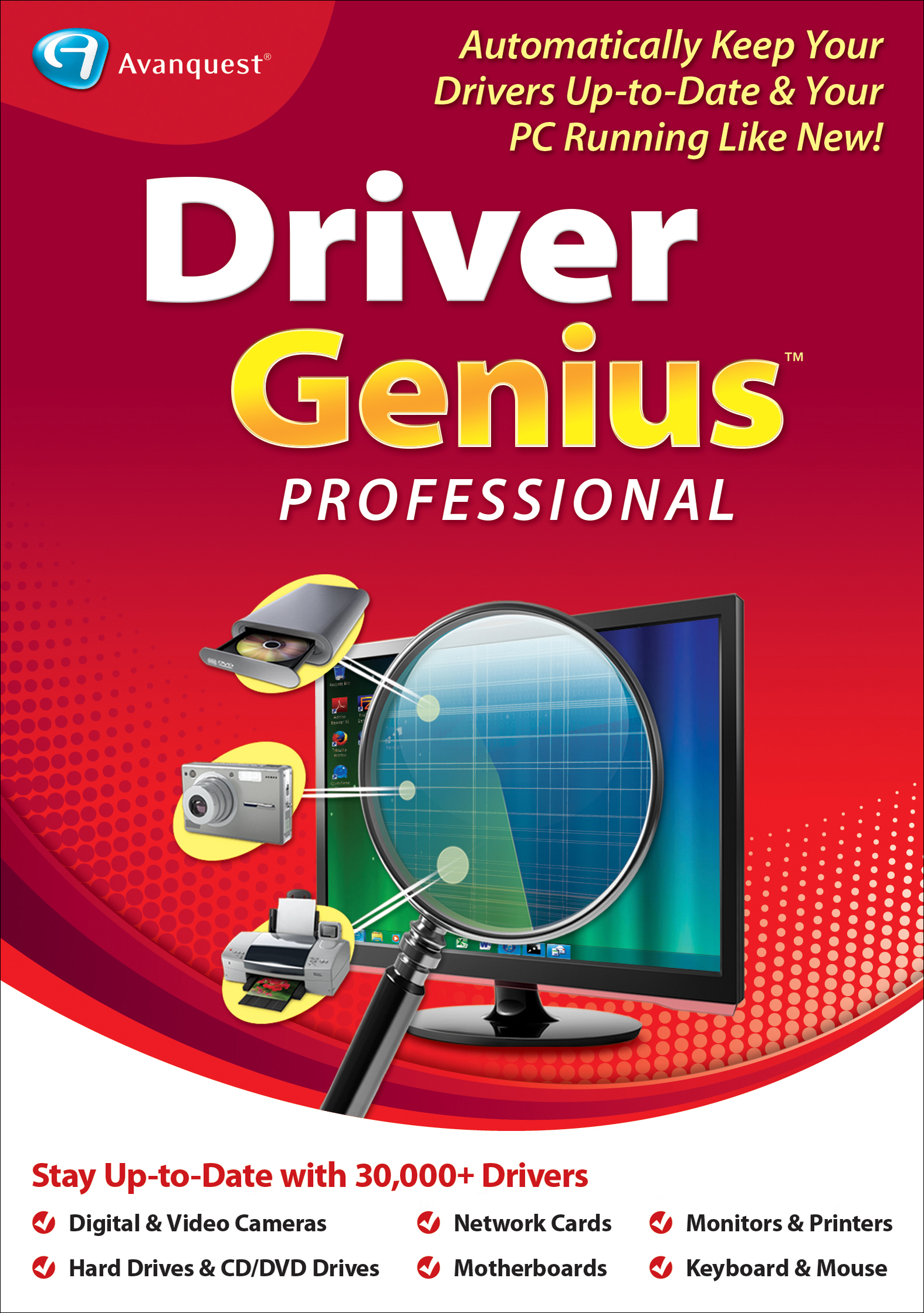 Driver Genius 17 Professional [Download] by Avanquest