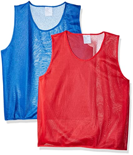 aebd4c08f Trademark Innovations Mesh Jerseys - Pack of 12 for Youth Large and Up  (Normal)