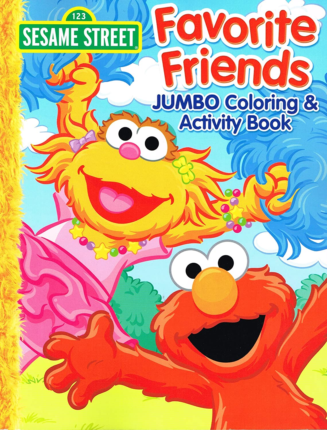 Sesame Street Coloring Activity Activity Activity Book Set Of 4