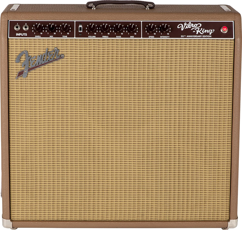 Fender Vibro-King 20th Anniversary Edition 60-Watt Guitar Combo Amplifier - Brown