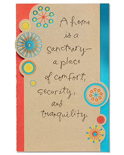 Amazon american greetings sanctuary new home congratulations american greetings sanctuary new home congratulations card with foil m4hsunfo