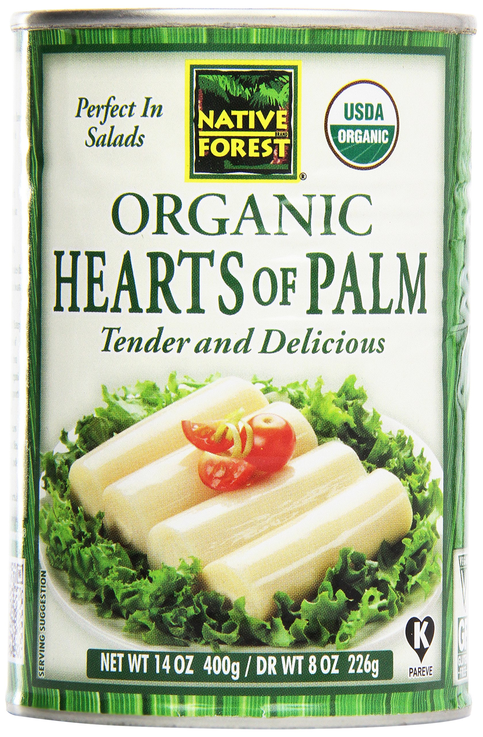 Native Forest, Organic Hearts of Palm, 14 oz