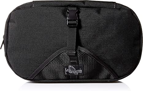 MAXPEDITION LARGE CUBOID TRAVEL CAMPING TOILETRY ORGANIZER POLICE WASH BAG BLACK