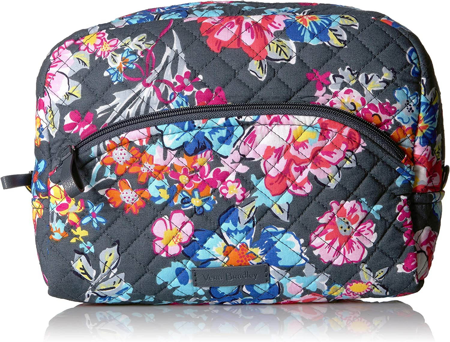 Vera Bradley Iconic Large Cosmetic, Signature Cotton