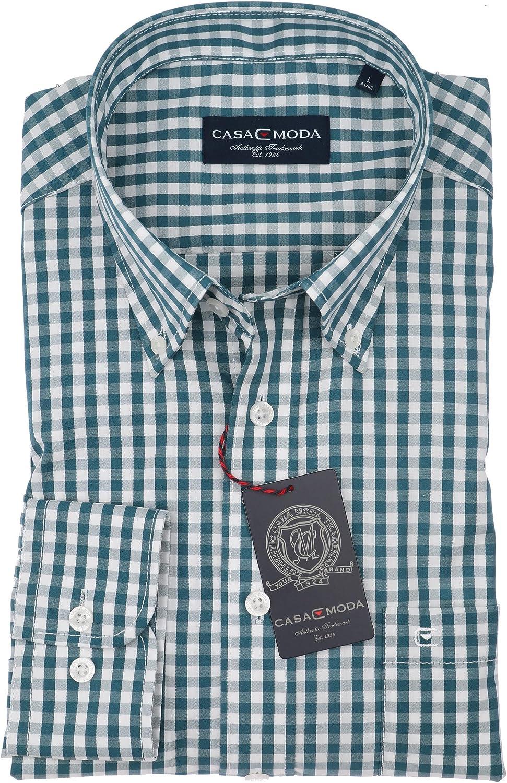 Michaelax-Fashion-Trade Casa Moda 462639900 - Camisa de hombre con cuello con botones y corte normal, colores diferentes