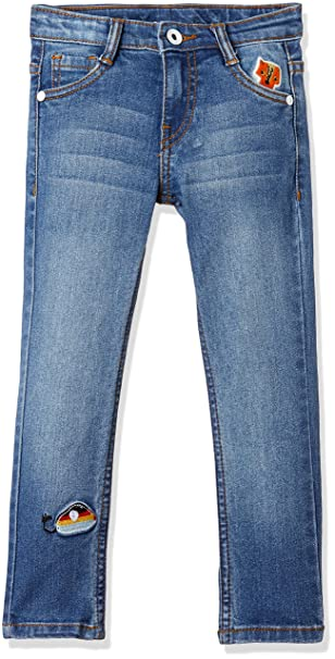 ec232e6b8fe94 Cherokee by Unlimited Girls  Slim Regular Fit Jeans  Amazon.in  Clothing    Accessories