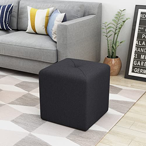 Christopher Knight Home Cayla Fabric Square Ottoman