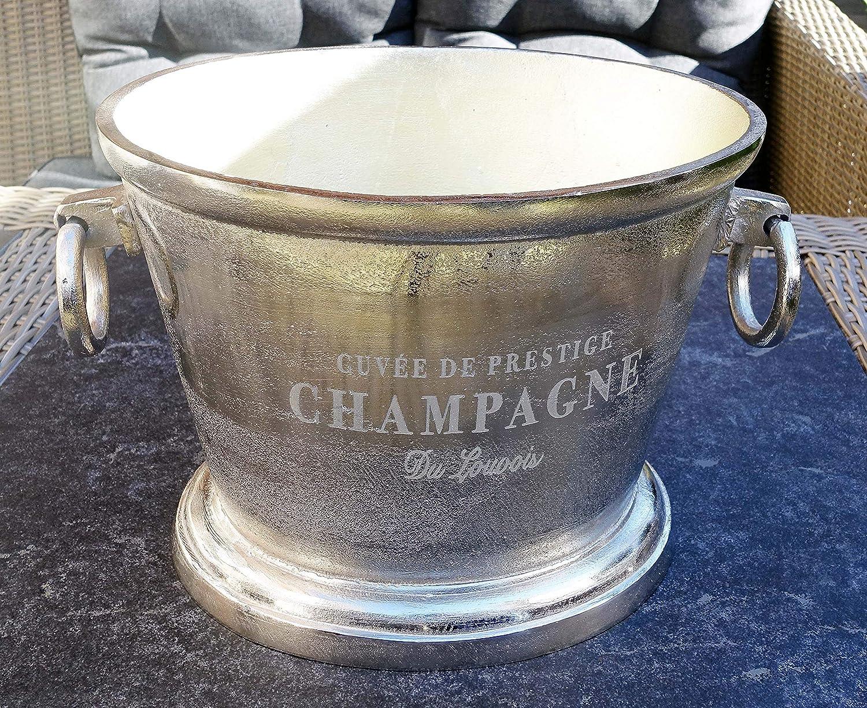 Michael Noll Champagne Cooler Wine Cooler Bottle Cooler Aluminium Silver XXL 38 m