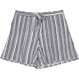 Amy Byer Girls' Big Flyaway Shorts, sea Navy