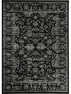 Amazon.de: HomebyHome Klassiker Orient Design Teppich mit Bordüre ...