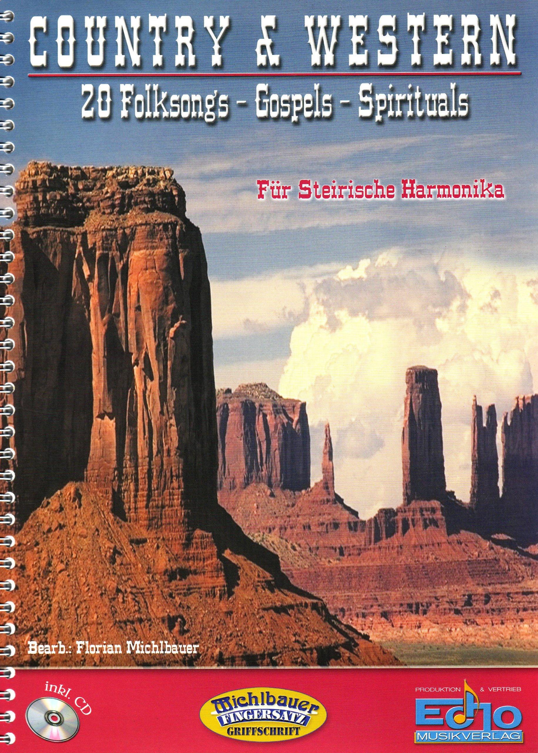 Country & Western. Handharmonika Musiknoten Michlbauer GmbH B00009UU90