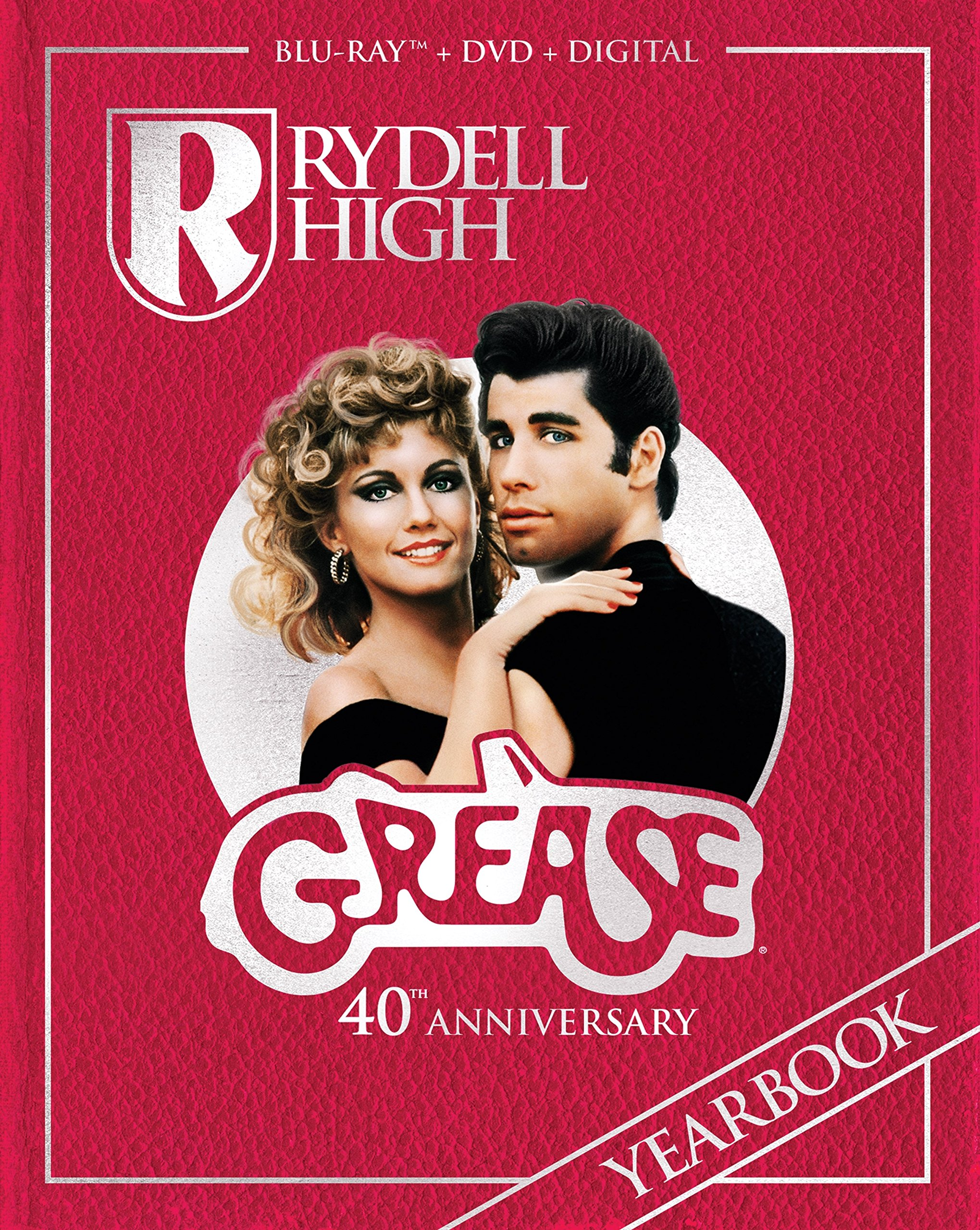 Blu-ray : Grease (40th Anniversary Edition) (With DVD, Anniversary Edition, Widescreen, Dubbed, Subtitled)
