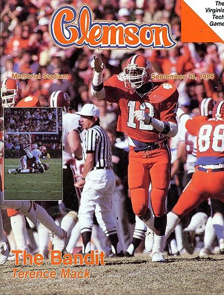 Amazon Com Clemson Tigers Vs Virginia Tech Hokies College