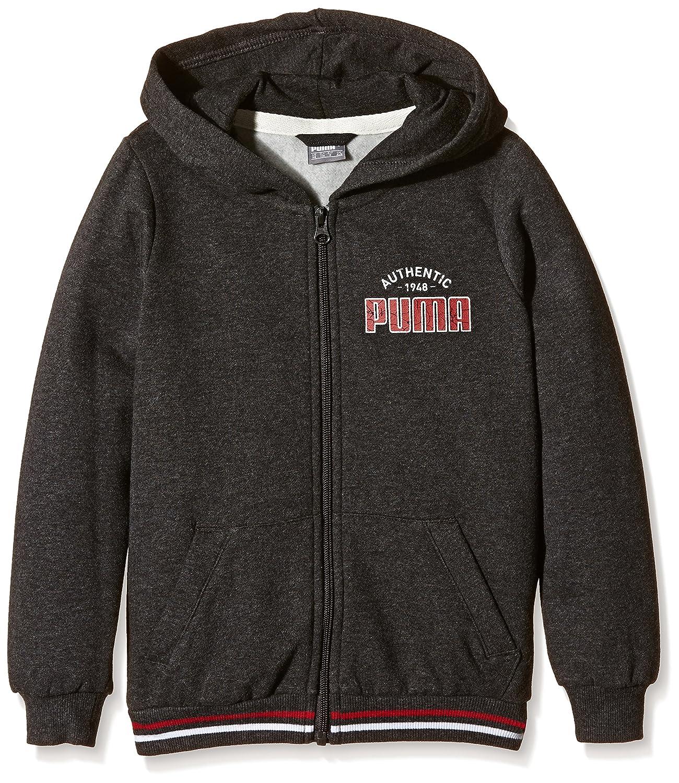 Puma Chaqueta Style Athletic Hooded Sweat Jacket niño Color Gris Oscuro tamaño 6 años (116 cm) 834223 07