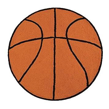Amazon.com: C & F Home Hooked Baloncesto Deporte – Alfombra ...