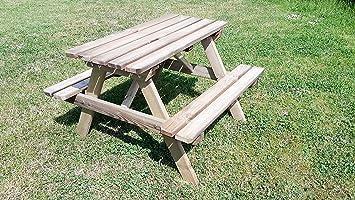 Amazonde Naturholz Shop Kindersitzgarnitur 4 Sitzer Kinder
