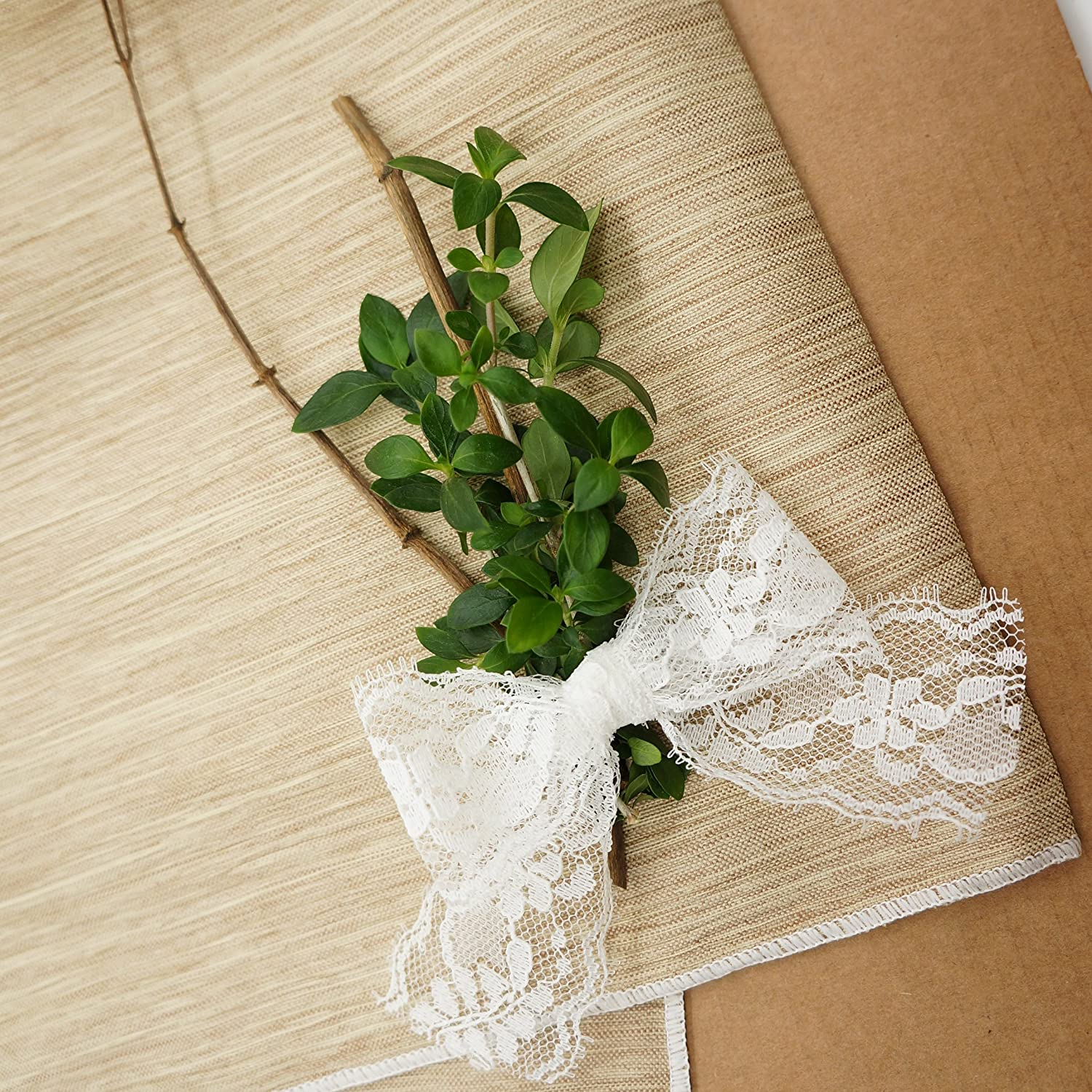 1.5 Floral Lace Trimming Bridal Wedding Baby Shower. X 20 Yards Wedding White Lace Ribbon Sewing 38mm Gift Table Tops Card Boxes