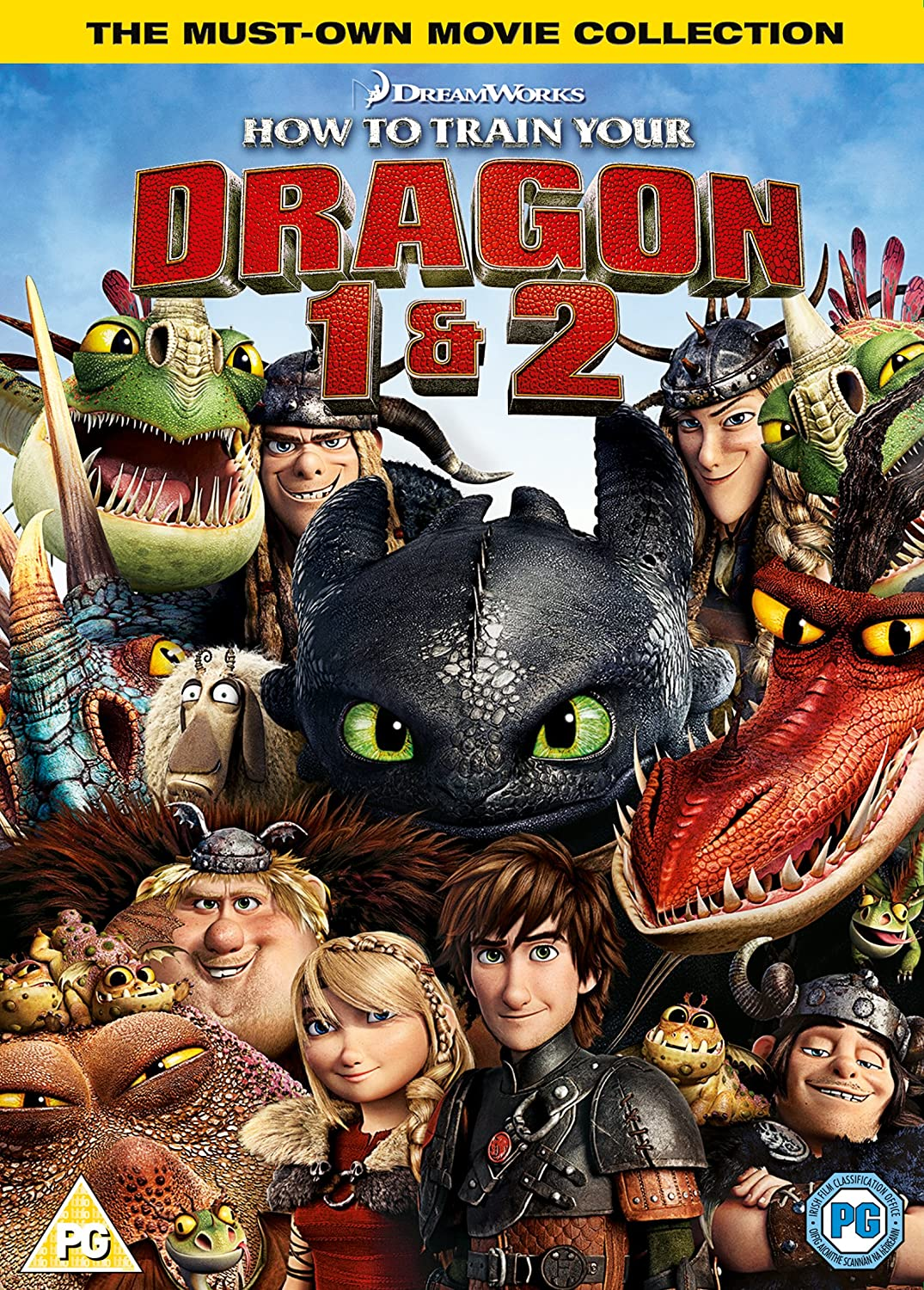 How To Train Your Dragon 2 [double Pack]