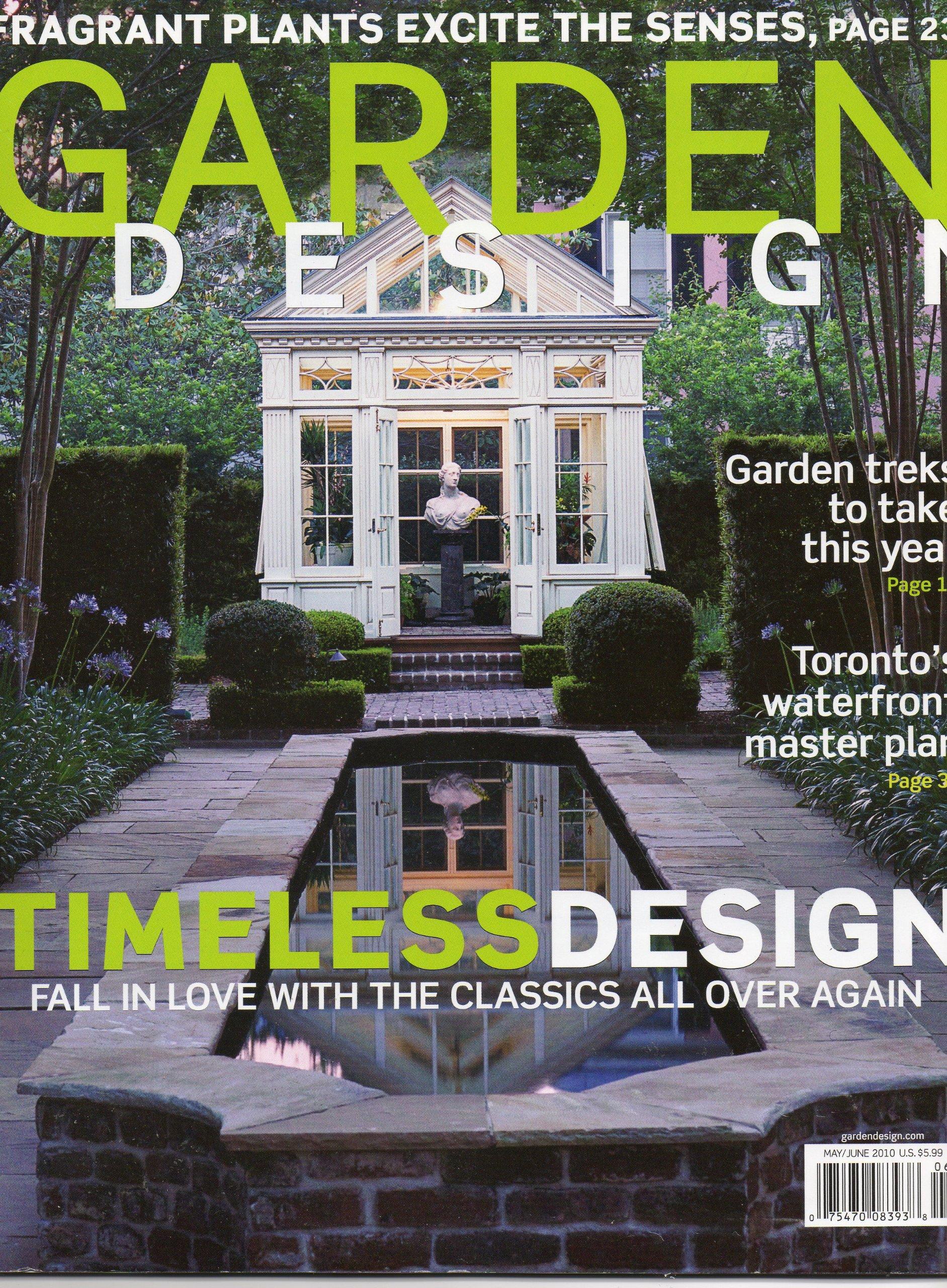 Garden Design Back Issue Magazine May June 2010 Amazon Com Books