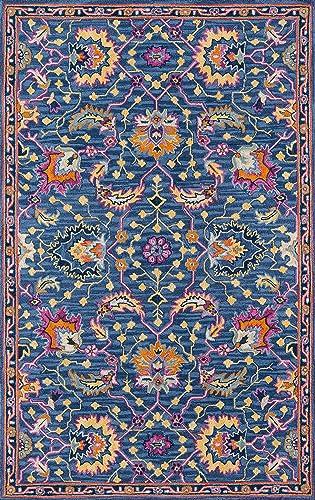 Momeni Ibiza Wool Area Rug, 6 X 9 , Blue