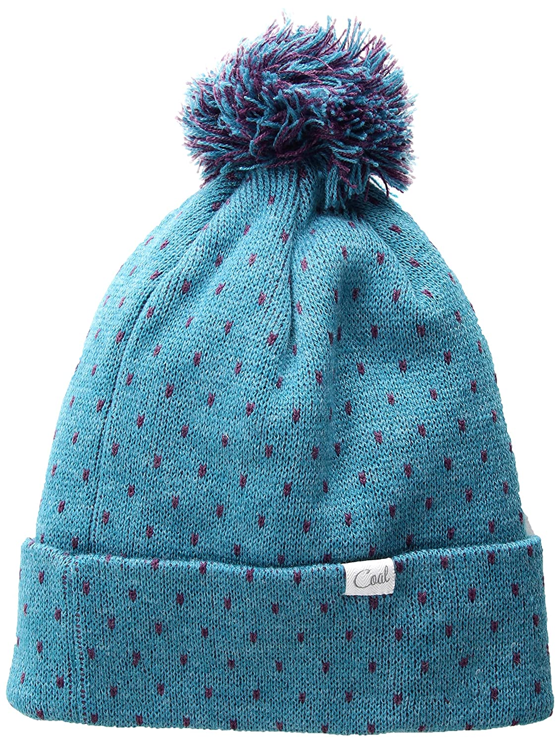 0a17620303d Coal Women s The Dottie Cuffed Beanie Pom