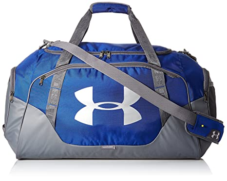 Under Armour Undeniable Duffle 3.0 - Bolsa de gimnasio - 1300216, Large, Royal (400)/Silver