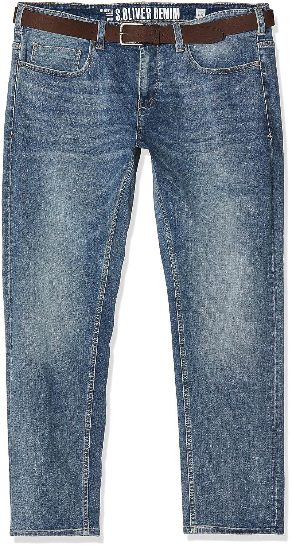 s.Oliver Big Size Jean Droit Homme 15.901.71.5680