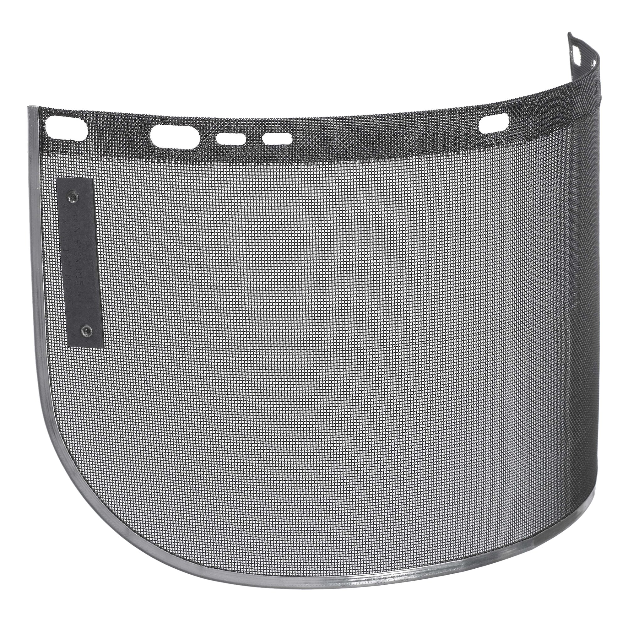 """Jackson Safety F60 Wire Face Shield (29055), Wire Mesh, 8"""" x 15.5"""" x 0.02"""", Reusable Face Protection, Shape C, Bound, 12 Shields / Case"""