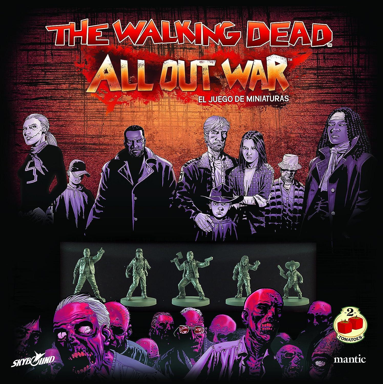 2 Tomatoes Games The Walking Dead: All out War-Caja Base, Multicolor (8437016497012): Amazon.es: Juguetes y juegos