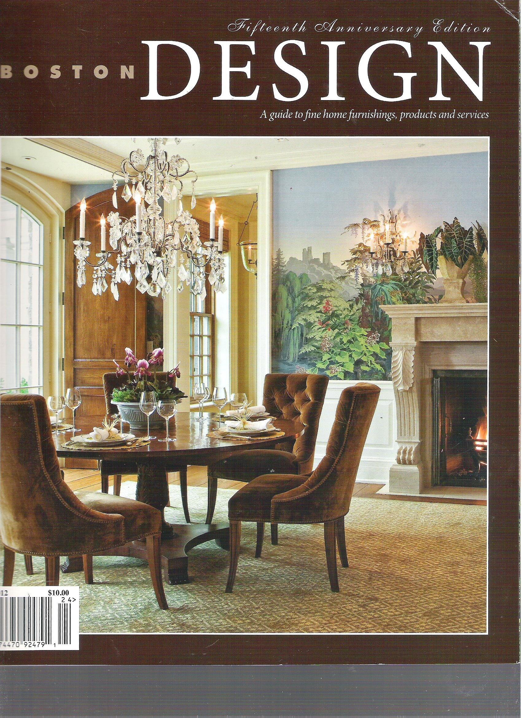 Download Boston Design Magazine (15th Anniversary Edition, 2012) pdf epub