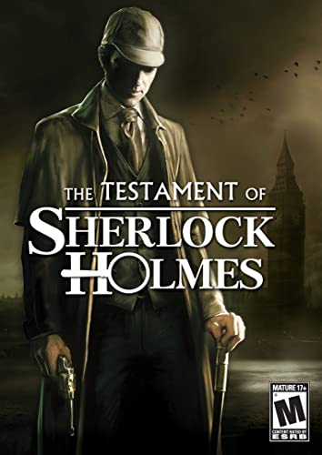 The Testament Of Sherlock Holmes Pc Download Amazon Co Uk Pc Video Games
