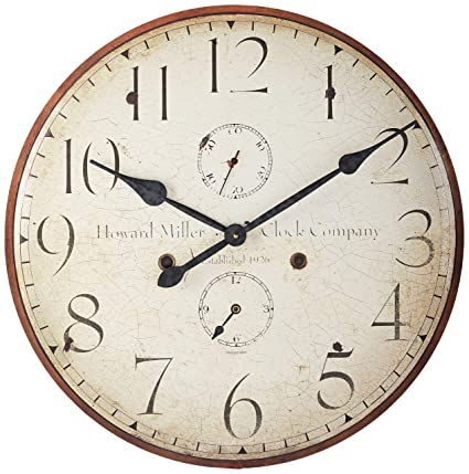 Amazon Com Howard Miller 620 315 Original Iv Wall Clock Home Kitchen