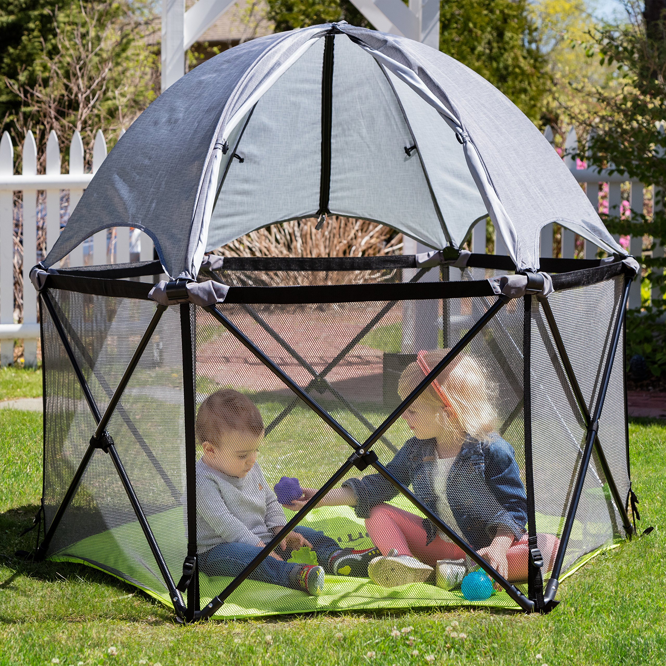 Summer Infant Pop N Play Full Coverage Canopy Outdoor