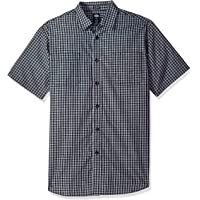 Dickies Mens WS525 Yarn Dyed Plaid Short Sleeve Shirt Short Sleeve Button Down Shirt - Multi