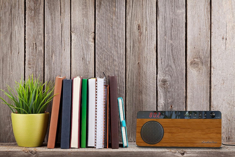 FM ホームラジオ アマダナ 【ワイドFM対応】 amadana Music Radio UVZZ-10065