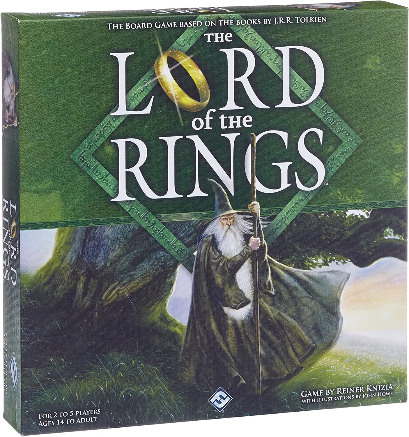 The Lord of the Rings: Silver Line Edition: Knizia, Reiner, Howe, John: Amazon.es: Juguetes y juegos